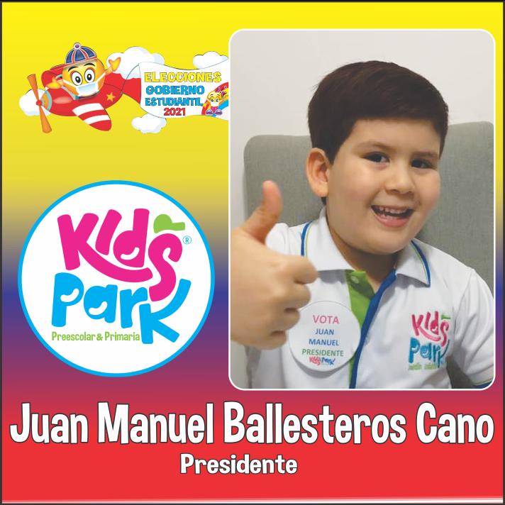 JUAN MANUEL BALLESTEROSPresidencia