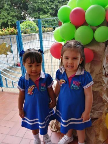 Isabella Matheus y Taliana Aguilar