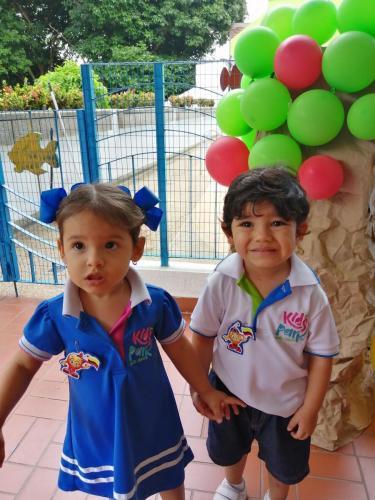 Celeste Pinzón y Santiago León