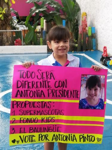 Candidata Presidente:Antonia Pinto Serrano