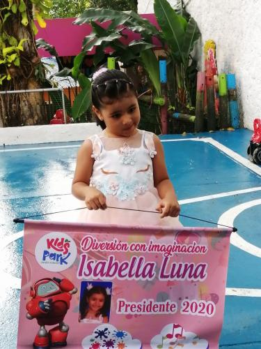 Candidata Presidente:Isabella Luna Perea