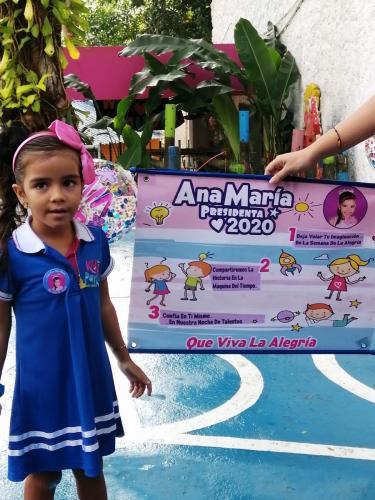 PresidenciaAna María Rodríguez