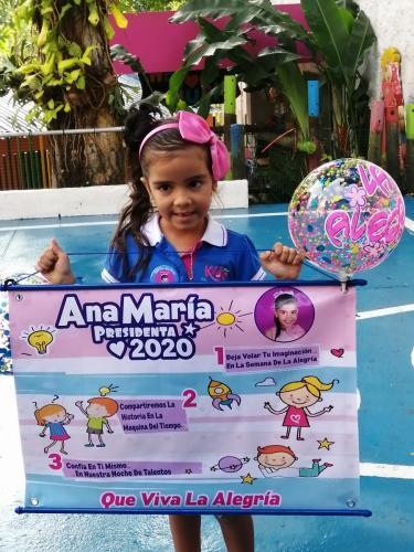 Candidata Presidente:Ana María Rodríguez Alférez