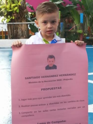 Candidato Ministerio RecreativoSantiago Hernández Hernández