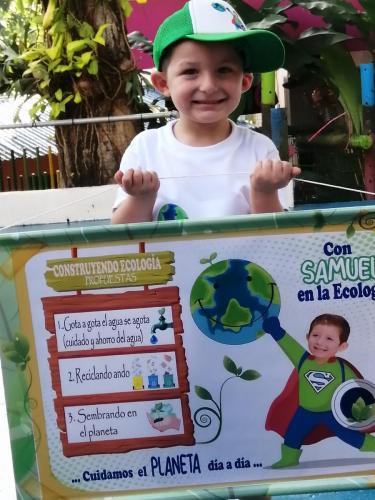 Candidato Ministerio EcológicoSamuel Garrido Sánchez