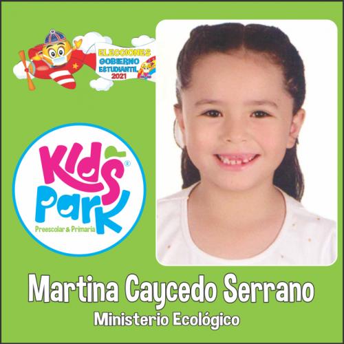 MARTINA CAYCEDO SERRANO